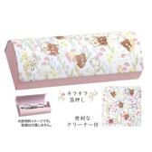 尼德斯Nydus 日本正版  San-X 拉拉熊 懶熊 牛奶熊 可愛造型 眼鏡盒