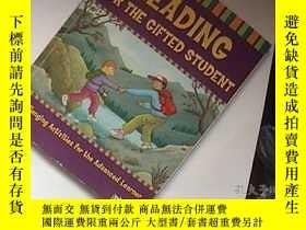 二手書博民逛書店reading罕見for the gifted student(