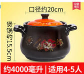 家用廚房耐高溫湯砂鍋DL13854『時尚玩家』