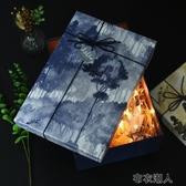 禮物盒 伴手禮盒包裝盒空盒子創意大理石紋禮品盒精美生日大碼禮物盒子 布衣潮人