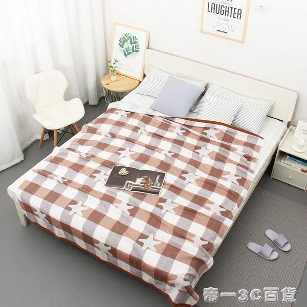 夏季純棉雙層紗布單人雙人成人毛巾被蓋毯午睡空調毯床單被子薄款【帝一3C旗艦】YTL