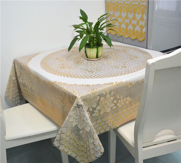 618好康又一發折疊塑料大八仙麻將桌四方餐桌布正方形家用防水防油免洗圓桌台布