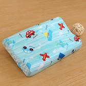 枕頭/ 兒童枕-防蹣抗菌幼童乳膠枕/精梳棉/夢想號/美國棉授權品牌[鴻宇]台灣製-1573