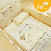 西川 GMP 數羊寶寶棉質七件式寢具組