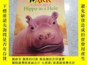 二手書博民逛書店animal罕見ark: hippo in a hole動物方舟:洞裏的河馬Y212829