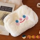 可愛筆袋毛茸茸可愛少女心收納包化妝包毛絨可愛筆袋文具袋【淘嘟嘟】