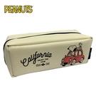 【日本正版】史努比 可展開式 筆袋 鉛筆盒 托盤式筆袋 Snoopy PACO-TRAY 270998