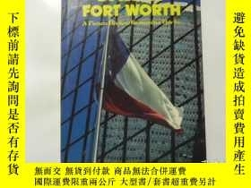 二手書博民逛書店dallas罕見fort worth 達拉斯沃思堡 e12-4Y