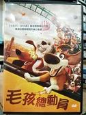 挖寶二手片-0B02-227-正版DVD-動畫【毛孩總動員】-小王子小小兵幕後團隊精心打造(直購價)
