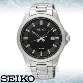 SEIKO 精工手錶專賣店 SUR245P1 簡約指針男錶 不鏽鋼錶帶 黑色錶面 防水100米 全新品 保固一年