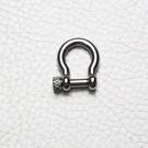 開口:8.5mm 304 不鏽鋼 馬蹄扣 U型勾 DIY 皮革配件 拼布材料 箱包扣 鑰匙-不生鏽