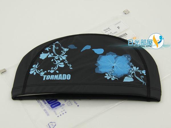 *日光部屋* TORNADO (公司貨)/TC-1218-BLU PU-2WAY 舒適泳帽(韓國知名品牌)