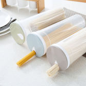 ♚MY COLOR♚旋轉式加蓋儲物罐 收納罐 置物 食品 麵條 五穀 雜糧 白米 保鮮 廚房【X25】