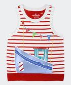 【特惠6折】Hallmark Babies 航海風條紋純棉背心上衣 HD1-R08-05-KB-PR