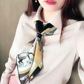 小方巾小絲巾韓國小領巾頭巾職業絲巾空姐圍巾披肩