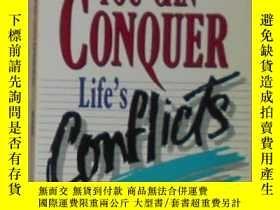 二手書博民逛書店英文原版罕見You Can Conquer Life s Con