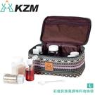 【KAZMI 韓國 彩繪民族風調味料收納袋《L》】K9T3K003/裝備帶/露營用品/登山/野炊