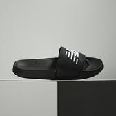 New Balance 黑 LOGO 防潑水 休閒 涼拖鞋 SMF200B1