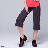 *╮寶琦華Bourdance╭*專業瑜珈韻律芭蕾★印花直筒七分褲【D16210】 M號樣衣