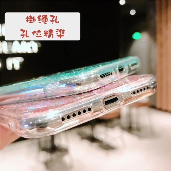 三星 A31 A51 A71 5G A21s A70 A50 A30s M11 閃粉滴膠保護套 透明手機殼 防摔防刮套 軟殼 保護殼