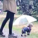 寵物雨傘遛狗雨傘泰迪比熊狗雨衣寵物雨衣雨披寵物用品小型犬防水 ATF 夏季狂歡