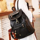 後背包 書包大容量冬季雙肩包女韓版學院風軟皮pu背包