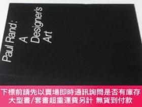 二手書博民逛書店英文)ポール·ランド:罕見A デザイナーズアートPaul Rand: A Designer`s ArtY449