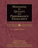 二手書博民逛書店 《Managing for Quality and Performance Excellence》 R2Y ISBN:0324783205│Cengage Learning