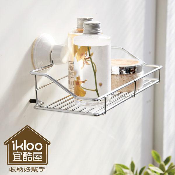 【H&R安室家】Taco無痕吸盤系列-吸盤萬用置物架-BRF15