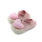 兒童鞋 懶人鞋 襪鞋 粉紅色 愛心 小童 2012 no020 11.5~13.5cm