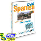 [106美國直購] 2017美國暢銷軟體 Byki Spanish Language Tutor Software CD-ROM for Windows & Mac