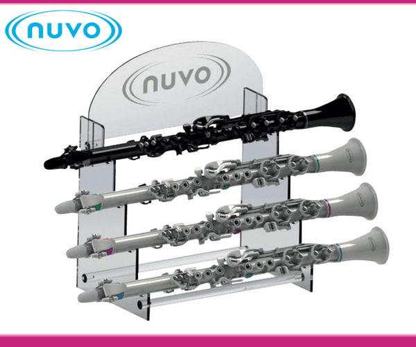 【小麥老師樂器館】NUVO 管樂展示架 四支展示 POP4IDP 豎笛展示架 豎笛掛架 豎笛