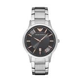 【Emporio Armani】美式經典光澤感簡約時尚腕錶-金針款/AR11179/台灣總代理公司貨享兩年保固