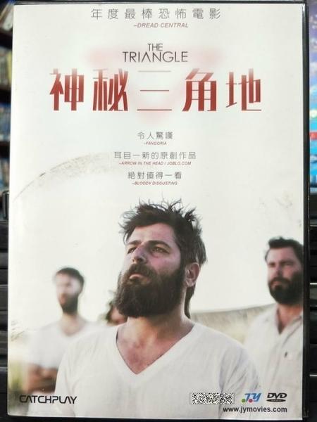 挖寶二手片-Z19-019-正版DVD-電影【神秘三角地】-亞當史提威 大衛布萊爾 亞當皮特曼(直購價)