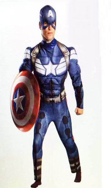 【美國隊長肌肉服裝】動漫角色扮演服裝蟻人美國隊長蝙蝠俠蜘蛛人蝙蝠俠