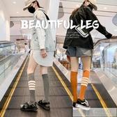 小腿襪子女中筒夏天夏季薄款jk半截瘦腿長筒襪過膝潮高筒長襪  雙12購物節