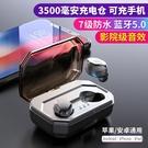 S8 Plus真無線藍芽耳機5.0 超大充電倉 雙耳入耳式 蘋果安卓通用 一對裝 5.0藍芽版本   交換禮物