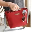 手提包旅行包-輕便簡約多隔層帆布側背包4...