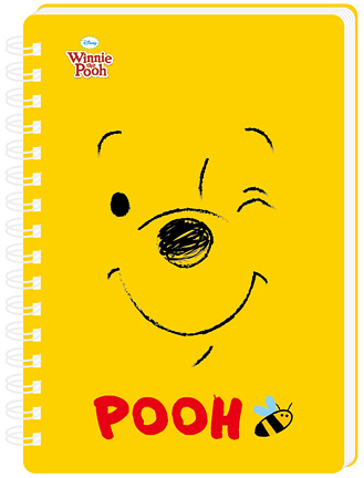 DPMA-100K3A 迪士尼活頁手冊-100K橫線 小熊維尼 線圈筆記本 【金玉堂文具】