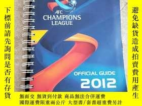 二手書博民逛書店AFC罕見CHAMPIONS LEAGUE Official g