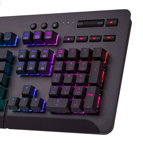 Thermaltake 曜越 Level 20 GT RGB Cherry MX 銀軸 電競鍵盤 機械式鍵盤 GKB-LVG-SSBRTC-01