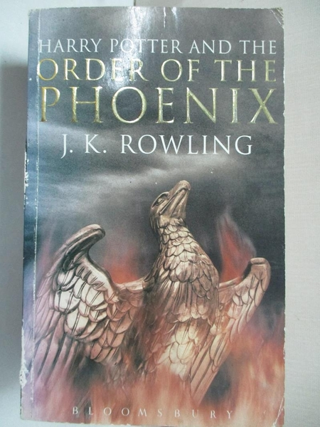 【書寶二手書T5/原文小說_GPG】Harry Potter and the Order of the Phoenix _J.K.ROWLING
