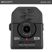 EGE 一番購】Zoom【Q2n-4K】廣角 4K 隨身直播攝影機【公司貨】