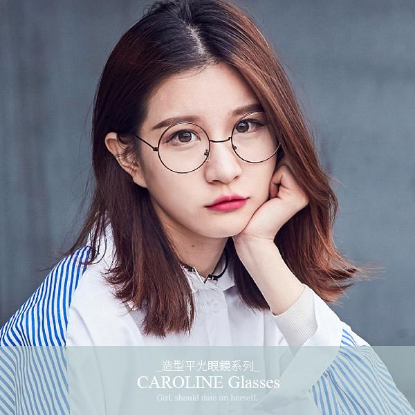 《Caroline》年度最新網紅款潮流行時尚平光眼鏡 71894