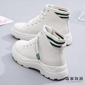 馬丁靴女雪地棉鞋秋冬英倫風短靴加絨百搭女鞋【毒家貨源】