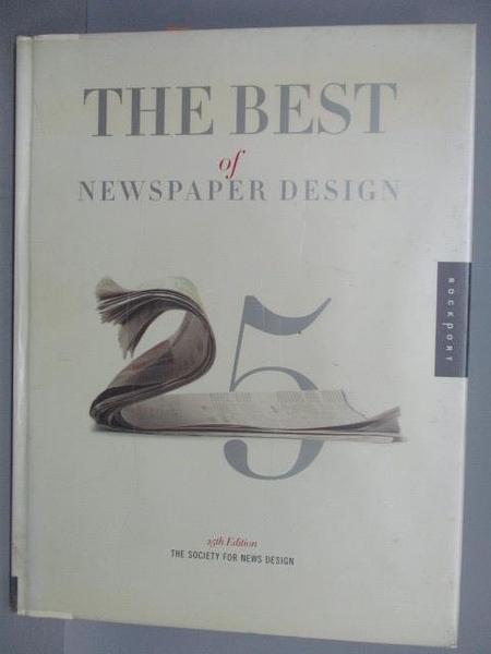 【書寶二手書T6/設計_PMC】The Best of Newspaper Design