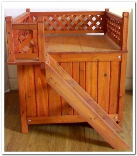 愛樓梯木屋 寵物狗窩貓窩 M101