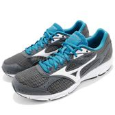 Mizuno 慢跑鞋 Spark 3 灰 藍 男鞋 運動鞋 基本款 輕量透氣【PUMP306】 K1GA1803-01