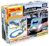 日本RAIL 鐵道王國E5新幹線複線火車組_TP11848(內含火車及軌)