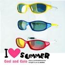 兒童偏光太陽眼鏡 MIT 前衛雙色配色框 抗UV400 防眩光
